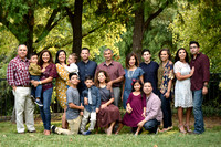 Angie's big group family photography Fall 2017
